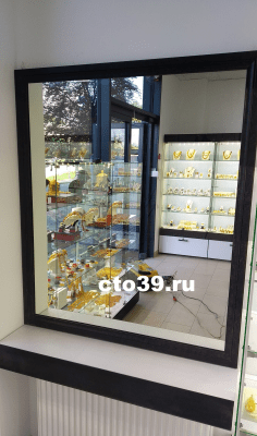 """зеркало в профиле мдф cерии """"элит"""" зп-1300800"""