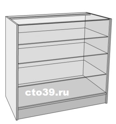 прилавок стеклянный пк-118903