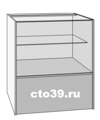 прилавок стеклянный пк-138901