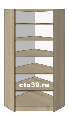 стеллаж угловой внутренний ст-68907, размеры: 200х90х35 см.