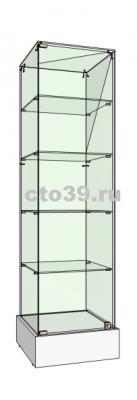 витрина выставочная стеклянная вт-34004