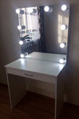 стол гримерный с надставкой, комплект сп-58001