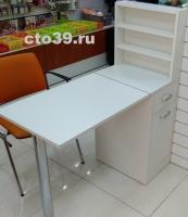 Стол маникюрный со складной металлической ногой СМ-412001