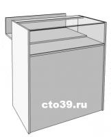 Прилавок стеклянный с выдвижной торговой зоной ПК-158900