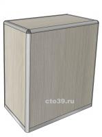 Прилавок закрытый в алюминиевом профиле ПА-19001