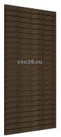 Экономпанель МДФ, цвет венге, 240х120 см.