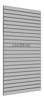 Экономпанель МДФ, цвет платина, 240х120 см.