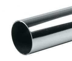 Труба хромированная, диаметр 25 мм., длина 2.9 м. ДТ-2525